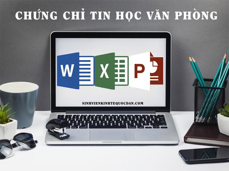 Địa chỉ học chứng chỉ tin học văn phòng ở Hà Nội